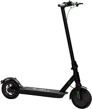 Patinete eléctrico VelocIPTOR ES 85 W – Scooter Plegable con Potente Motor de 350 W, Velocidad máxima de hasta 25 km/h, Marco de Aluminio, Ruedas ...