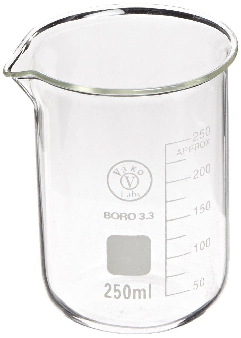 Ajax Scientific GL010-0250 Borosilicate Beaker Graduated Glass Some reservation online shopping
