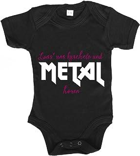 clothinx Kuscheln und Metal hören - Babybody