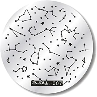 Hot Sale Nail Art Tips Stickers Hosamtel DIY Nail Decals Image Stamp Stamping Plates Makeup Manicure Template Fashion Nail Cosmetology Plates (G)