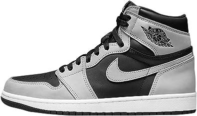 Jordan Mens Air 1 High OG 555088 035 Shadow 2.0 - Size