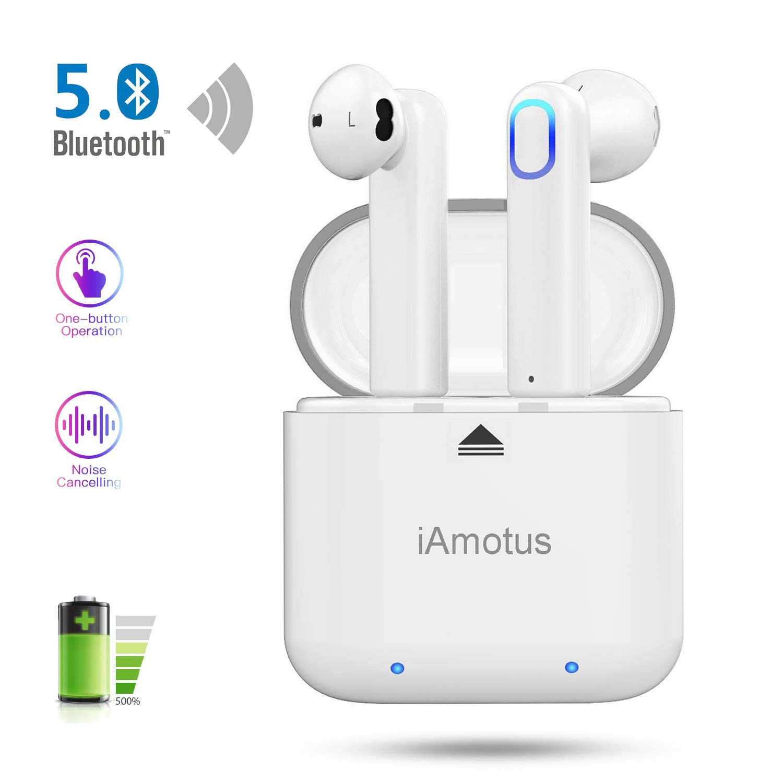 Auriculares bluetooth, iAmotus Auriculares inalámbricos Bluetooth ...