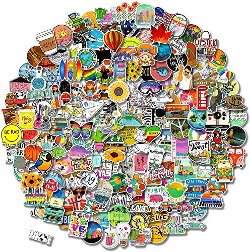 Cool Decals Bike For Kids And Adults Decal For Cars Water Bottle Flask Skateboard Laptop Longboard etc I love you Sticker Pack Average Size Sticker 4.5 Inches WaterProof Vinyl