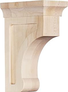 Ekena Millwork BKTW02X04X06GOMA Wood Bracket, 2.5