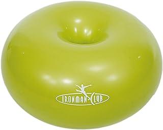 IRONMAN CLUB(鉄人倶楽部) ドーナツ ボール グリーン IMC-35 ポンプ付 バランス トレーニング