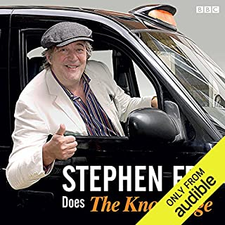 Stephen Fry Does the 'Knowledge' audiobook cover art
