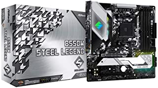 ASRock B550M STEEL LEGEND Supports 3rd Gen AMD AM4 Ryzen™ / Future AMD Ryzen™ Processors motherboard