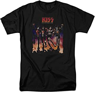 KISS Destroyer Gene Simmons Rock Band T Shirt & Stickers