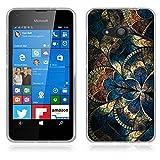 FUBAODA für Nokia Microsoft Lumia 550 Hülle, Künstlerische - Serie TPU Case Schutzhülle Silikon Case für Nokia Microsoft Lumia 550