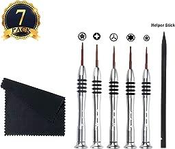 HaiMay 7 Pieces Screwdriver Tool Kit Pentalobe Screwdriver for Macbook Air/Pro and Retina