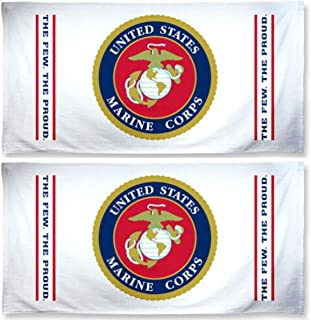 WinCraft United States Marine Corps Towel 27 x 50 inches, 2 Pack