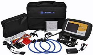 Dranetz PowerVisa DBPVFLEX6K Power Quality Analyzer Kit, 3 Phase, TRMS, 6000A Kit Current Capability