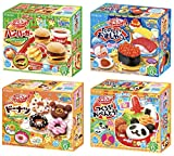 Kracie Popin Cookin DIY Candy Kits - Hamburger, Sushi,...