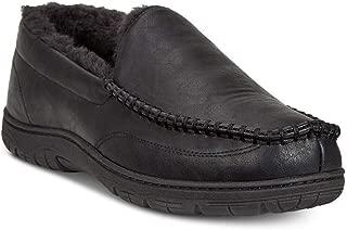 Men's Venetian Slippers Black Large