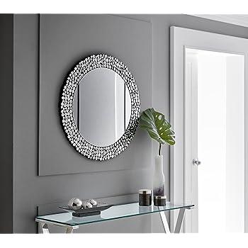 Dugarhome - Espejos Modernos de Cristal - Espejo Cristal BALANS (80X80): Amazon.es: Hogar