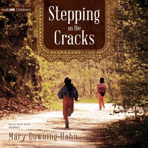 Stepping on the Cracks audiobook cover art