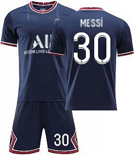 Weqenqing 21-22 New Paris Home Jersey, Nummer 30 Jersey, Parisian Jersey, Heren Voetbal T-shirt, Voetbal Uniform, Geperson...