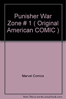 Punisher War Zone # 1 ( Original American COMIC )