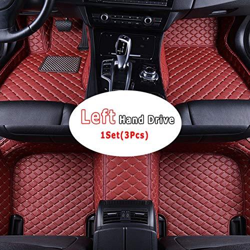 Preisvergleich Produktbild WHJIXC Für KIA Cerato Forte YD 2013 2014 2015 2016 2017 2018,  Auto Innenfuß Teppiche Decken benutzerdefinierte Teppiche Auto Protect Auto Fußmatten