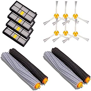 ??Replacement Parts Kits for iRobot for Roomba 800 900 Series Vacuum Cleaner Accessories Extractor Brushes Filters Side Brushes