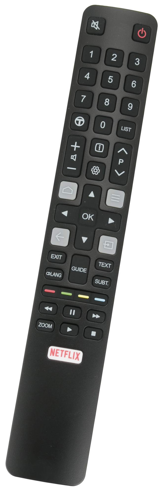 ALLIMITY 06-IRPT45-ARC802N Reemplace el Control Remoto por Thomson TCL 4K UHD QLED TV 55UD6406 43UC6406 U50P6046 U70C7026 75EP660 U55X9006 65DC766 U65S9906 65DP661 U65X9026 U49P6046 U65P6046 65DP660: Amazon.es: Electrónica