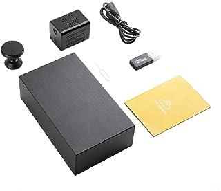 SWNY Kleine spionagecamera, 1080p HD bewakingscamera voor binnen, draadloos met infrarood nachtzicht en grote capaciteit b...