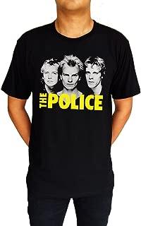 The Police Music Band Punk Rock UK Sting Andy Stewart T-Shirt