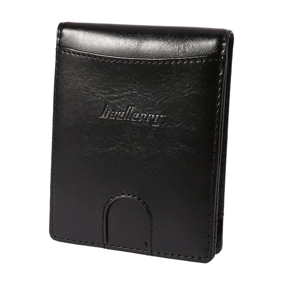 ベリ警報ターゲットBaoyouls baellerryメンズウォレットヨーロッパとアメリカのクリエイティブな磁気クリップ 財布