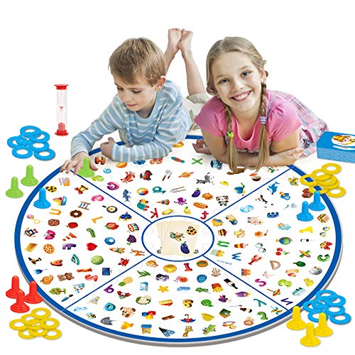 GILOBABY Educational Board Game Toy, Little Detective Memory Matching Card...