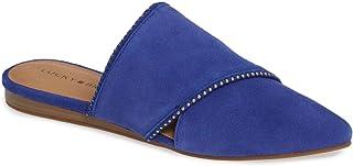 حذاء نسائي بدون كعب من Lucky Brand Bidimin2 Mule أزرق مصري، مقاس 8 M US