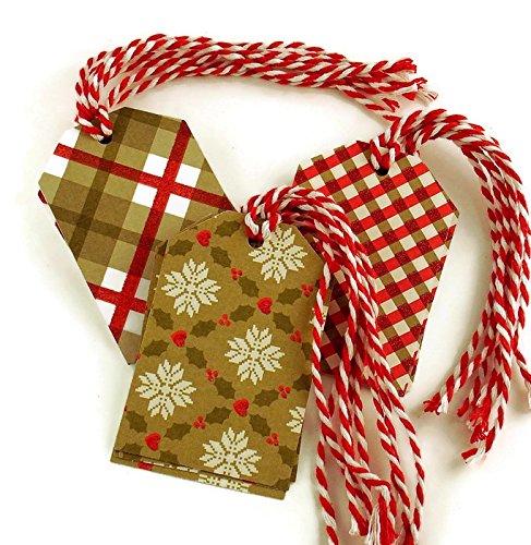 Christmas Gift Tags Holiday 2021 new Mix 12 Dallas Mall Set of