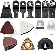 Oscillerende accessoirekit MASO 38-delige multi-tool accessoire kit mix oscillerende zaagbladen voor het schuren, slijpen,...
