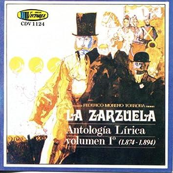 La Zarzuela Antologia Lirica Vol 1