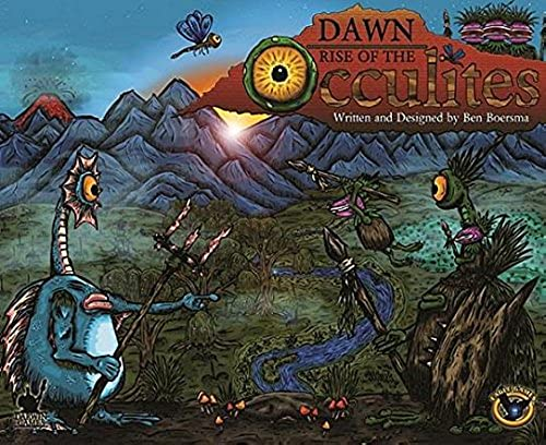 Dawn  Rise of the Occulites (Base Set with 3 Expansions) (Painted) by Eagle Games