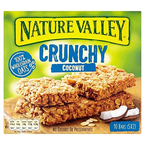 Nature Valley Crunchy Coconut Cereal Bars 5 x 42g
