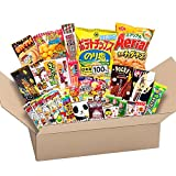 Japonés valioso partido Snack BOX popular conjunto Dagashi Japón Aerial chocolate Pocky Matcha con AKIBA KING Sticker