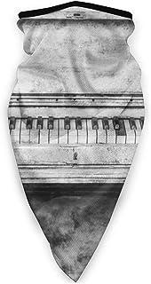 Old Piano Keyboards Face Mask Windproof Tube Mask Bandana He