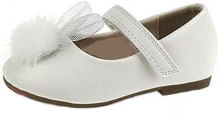 Buckle My Shoe Ballerines Mary Jane avec strass et fleurs pour fille