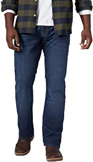 Men's 5-Pocket Relaxed Straight Fit Performance Series Jeans with Flex -