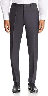 Mens 38X34 Slim Fit Dress Pants Flat Front Wool