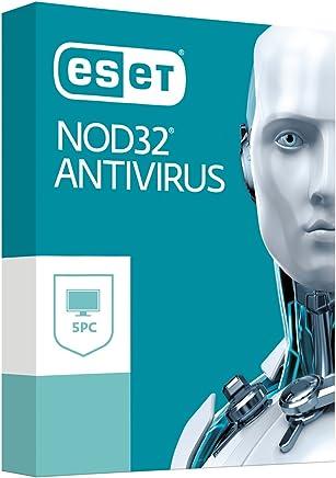 ESET NOD32 Antivirus v11, 5 Licencias electrónicas 2018