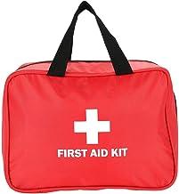 Reddingstas, opbergtas voor medicijnen Medische noodzak, rood voor thuisreizen voor sportkantoor