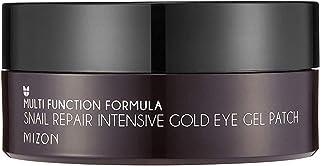 Gel Nutritivo para Olhos com mucina de caracol Mizon Snail Repair Intensive Gold Eye Gel Patch, Mizon