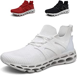 Noblespirit Men's Classic Lace-up Sneaker Fashion Abrasion Youth Big Boys Low-top Soft Sole Outdoor Sports Trail Running Shoe Lightweight Walking Shoes for Men