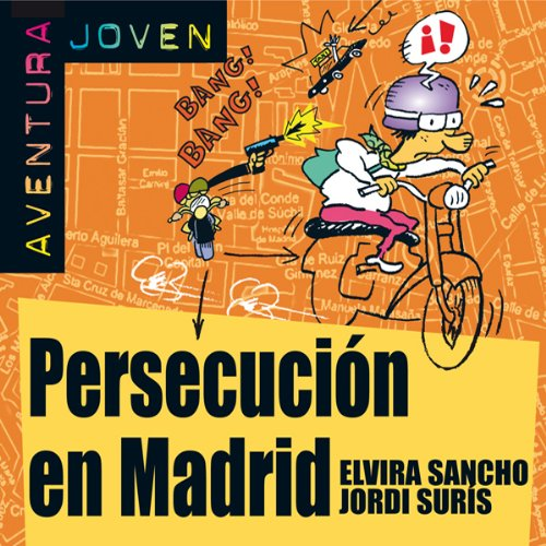 Persecución en Madrid [Persecution in Madrid] audiobook cover art