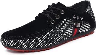 DADAWEN Mocassins Confortables Chaussures Bateau Décontractées pour Homme