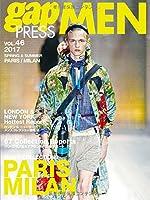 2017 S/S gap PRESS MEN vol.46 PARIS / MILAN (gap PRESS collections)