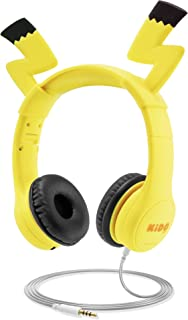 Kids Headphones with VoliBolt Ears, Mumba Wired Over-Ear Headphones with Music Sharing Function, 85dB Volume Limited Hearing Protection,Safe Food Grade Material, 3.5mm Jack (HS01) Headset for Children