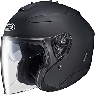 HJC IS-33 II Open-Face Motorcycle Helmet (Matte Black, X-Large) (874-615)