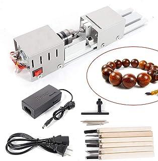 BACHIN Mini Lathe Beads Polisher Machine Diy CNC Machining for Table Woodworking Wood DIY..
